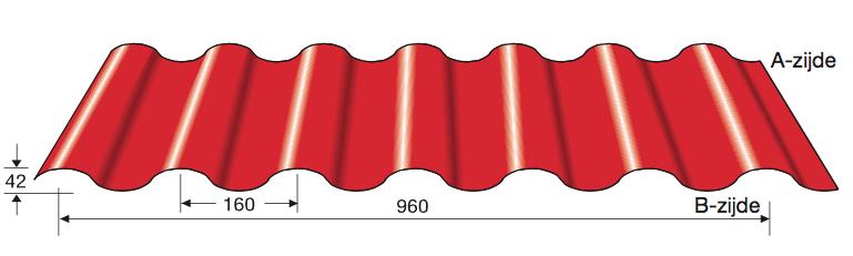Dak Golfplaat 42-960