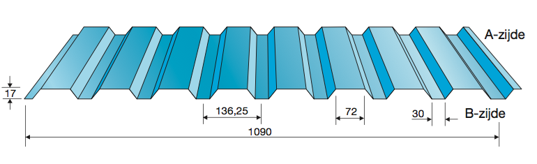 Wandprofiel 20-1090