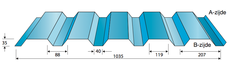 Wandprofiel 35-1035