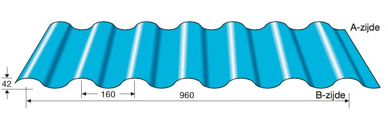 Wandprofiel 42-960
